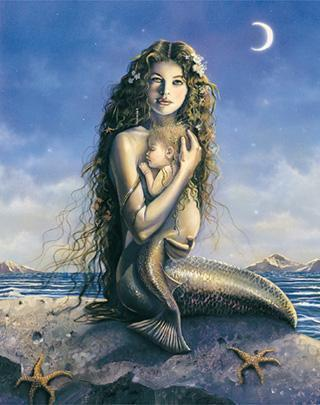 Mermaid and Baby